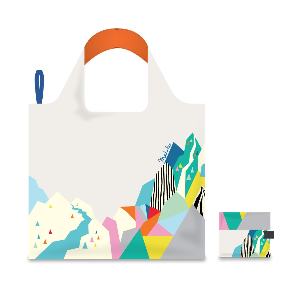 Foldable Shopping Bag - Mystic Peak