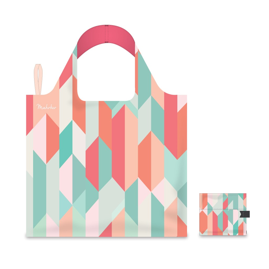 Foldable Shopping Bag - Polygon 02