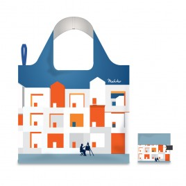 Foldable Shopping Bag - Architecture 02