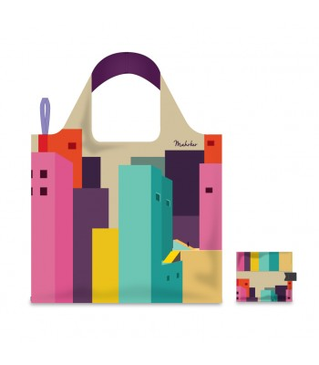 Foldable Shopping Bag - Architecture 01