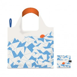 Foldable Shopping Bag - Rising Sun