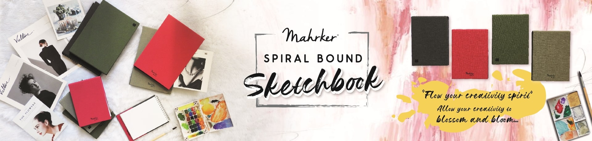 Mahrker Sketchbooks